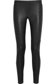MICHAEL Michael Kors Stretch-leather leggings