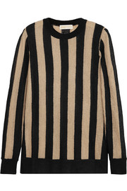 MICHAEL Michael Kors Striped knitted sweater
