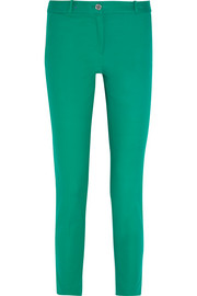 MICHAEL Michael Kors Miranda stretch-cotton straight-leg pants