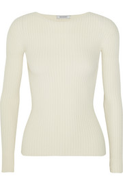 Angel ribbed-knit top
