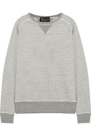 Crew mélange cotton sweatshirt