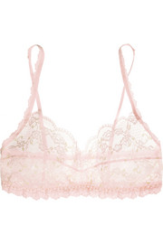 Hanky Panky Rose Garden stretch-lace soft-cup bra