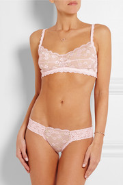 Rose Garden stretch-lace thong