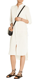 Day Breeze cotton-voile midi shirt dress