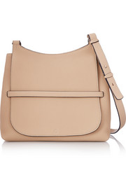 Sideby textured-leather shoulder bag