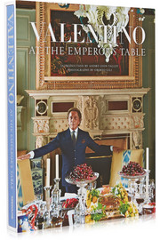 Assouline Valentino: At The Emperor's Table by André Leon Talley hardcover book