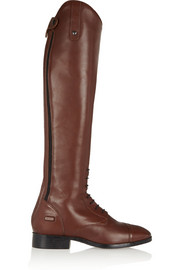 Challenge Contour leather slim-fit riding boots