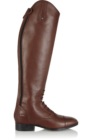 Ariat - Challenge Contour Leather Riding Boots - Brown