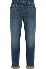 501 CT mid-rise straight-leg jeans