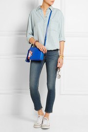 Anya Hindmarch Frosties textured-leather shoulder bag