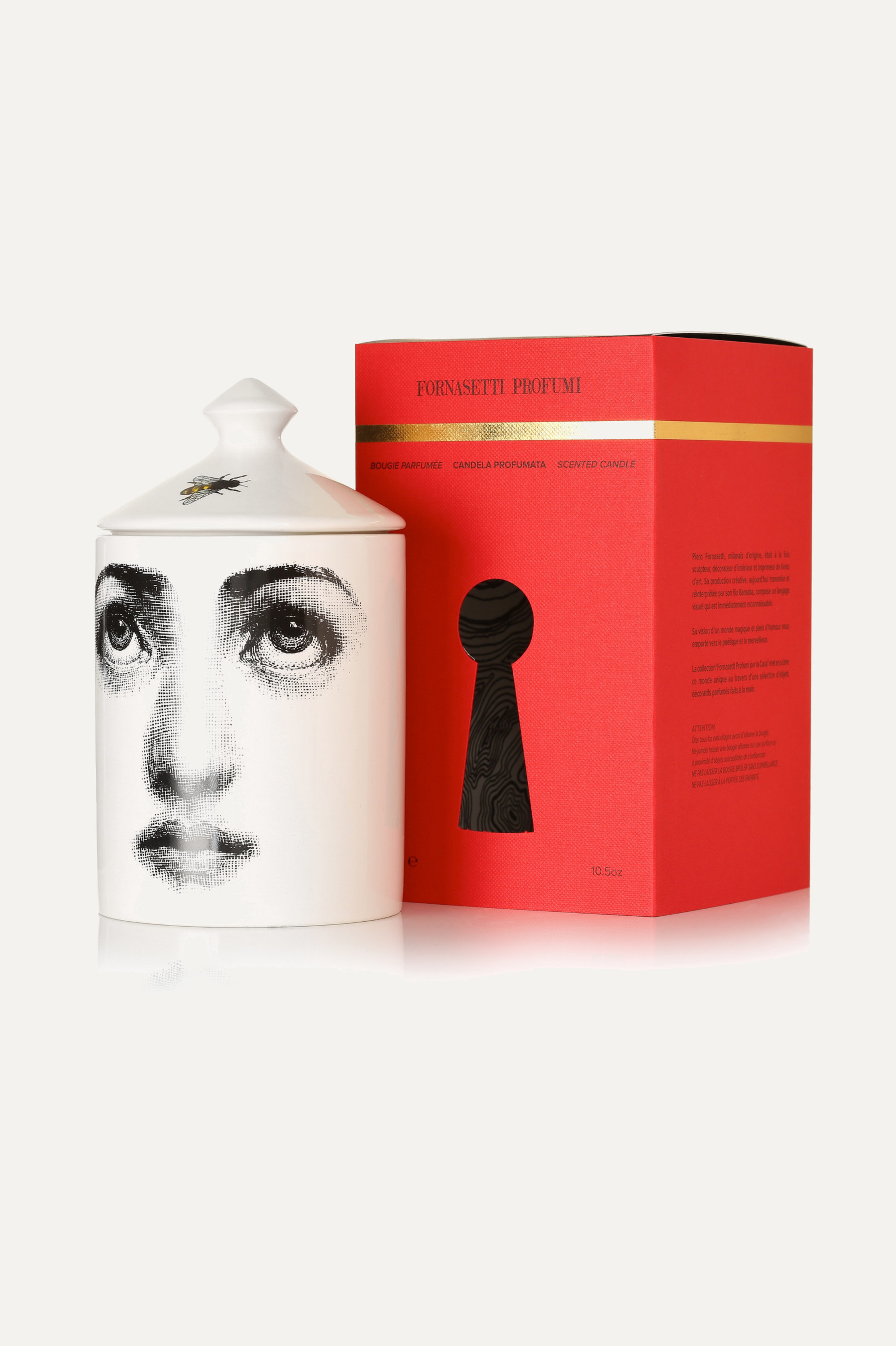 Fornasetti L'Ape scented candle, 300g