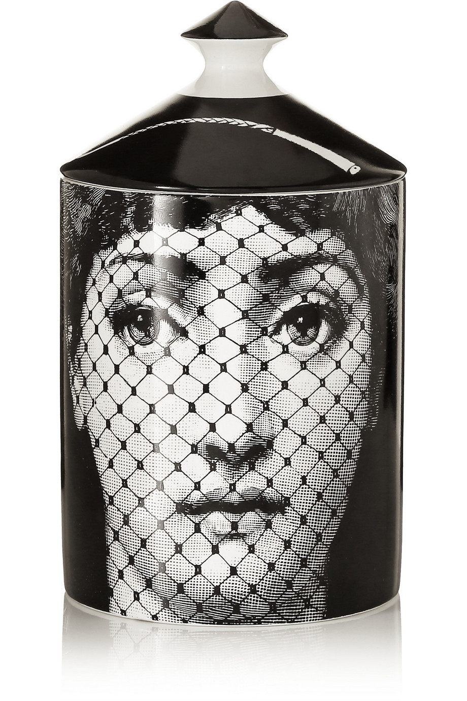 Fornasetti Burlesque Thyme, Lavender and Cedarwood Scented Candle, 300g