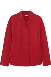 Miu Miu Stretch-crepe jacket