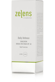 Zelens Daily Defence Sunscreen Broad Spectrum SPF30, 50ml