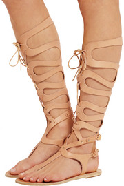 Kori lace-up leather sandals