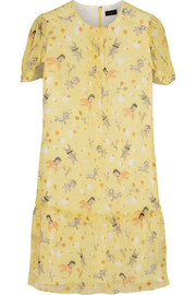 The Secret Order printed chiffon dress