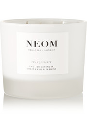 Tranquillity English scented candle, 420g