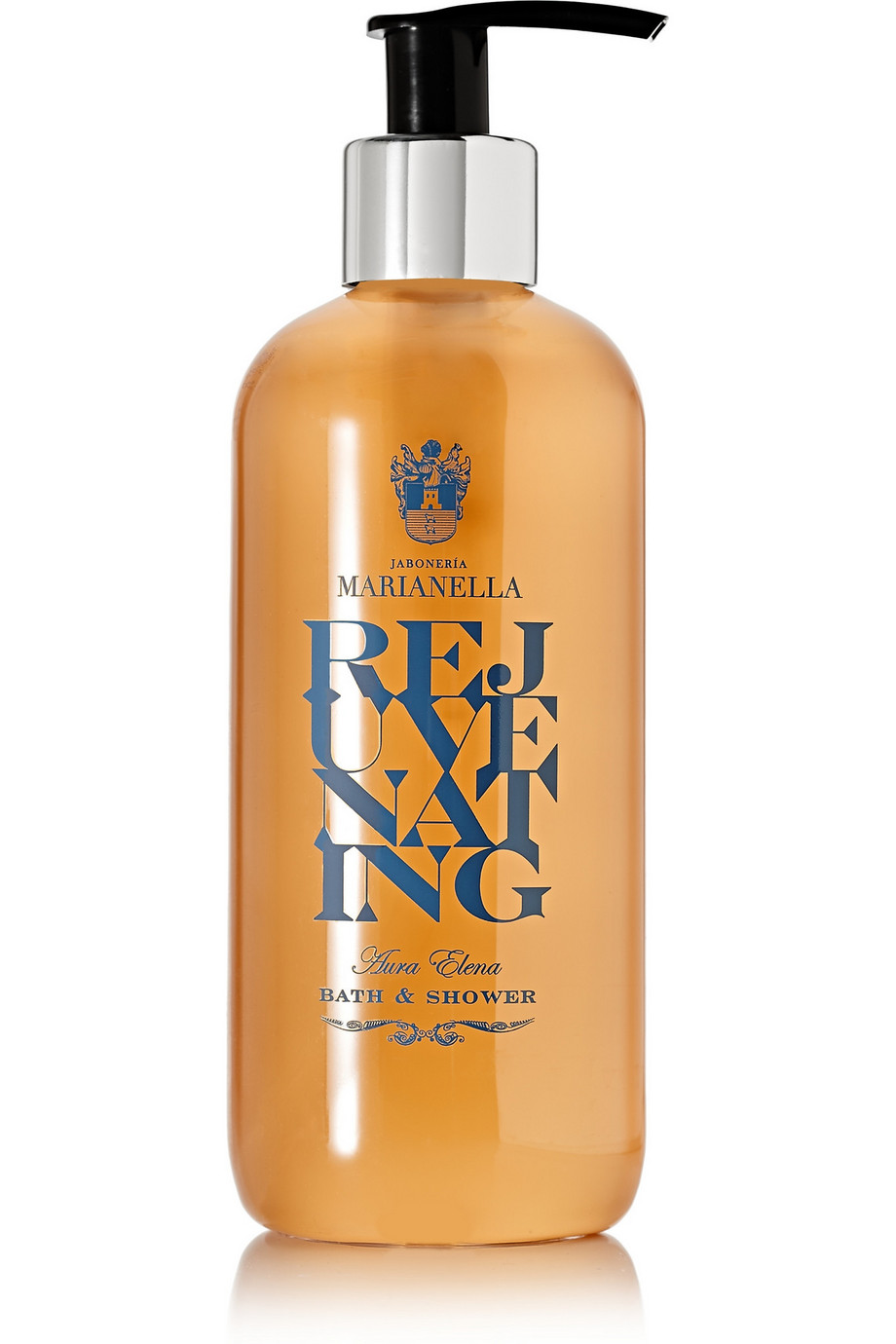 Aura Elena Rejuvenating Bath & Shower Gel, 290ml, by JABONERIA MARIANELLA