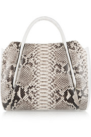 Nancy Gonzalez Crocodile and python tote