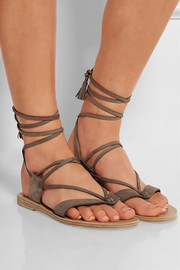 Pantem nubuck leather sandals