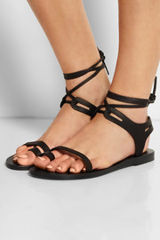 Leblon leather sandals