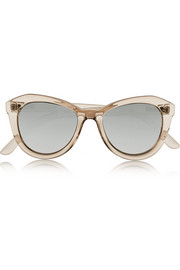 Peach Pit cat-eye acetate sunglasses