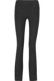 Lex stretch-twill flared pants