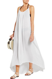 Biarritz voile maxi dress