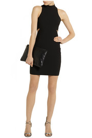 Elizabeth and James Shaelene cutout stretch-jersey mini dress
