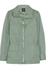Fleet cotton jacket