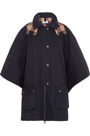 REDValentino Cotton Mackintosh cape