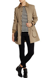 REDValentino Cotton Mackintosh coat