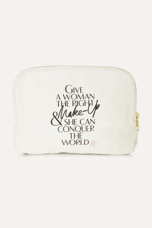 Charlotte Tilbury Printed cotton-canvas cosmetics case