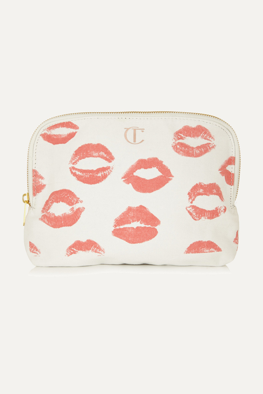 Charlotte Tilbury Printed cotton-canvas cosmetics case