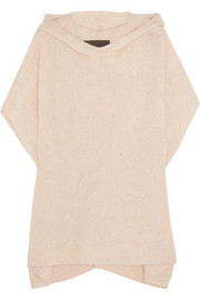The Elder Statesman Effa cashmere and silk-blend poncho