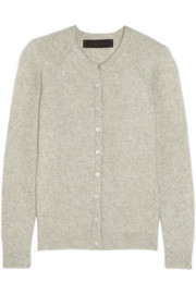 The Elder Statesman Effa cashmere and silk-blend cardigan