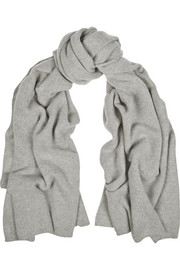 The Elder Statesman Wool and cashmere-blend scarf