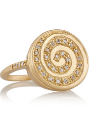 Passion 18-karat gold diamond ring