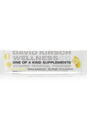 David Kirsch Wellness Co. Lemon Vitamin Mineral Powder - 30 sachets