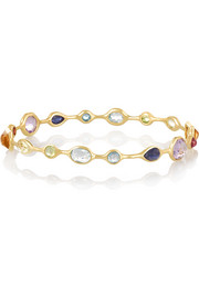 Mini Lollipop Gelato 18-karat gold multi-stone bangle
