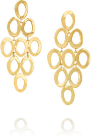 Glamazon 18-karat gold earrings