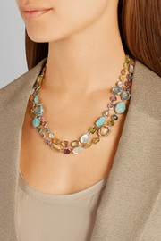 Rock Candy Sofia 18-karat multi-stone necklace