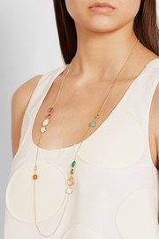 Ippolita Rock Candy Gelato 18-karat gold multi-stone necklace