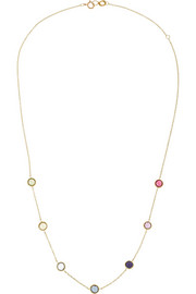 Mini Lollipop Gelato 18-karat gold multi-stone necklace