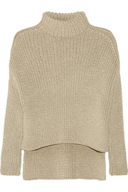 Victor Alfaro Ribbed cotton-blend sweater