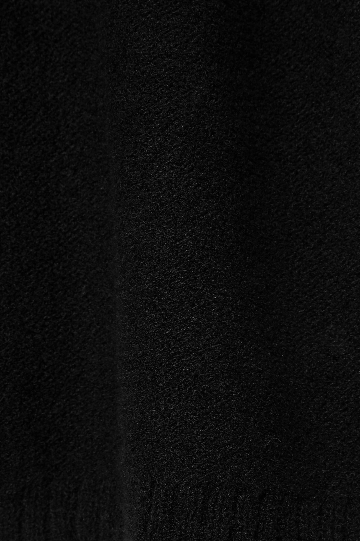 A.P.C. Atelier de Production et de Création Knitted cotton-blend mini sweater dress
