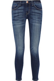 High-rise skinny jeans