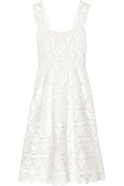Randy macramé lace dress