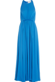 3.1 Phillip Lim Gathered silk-crepe maxi dress