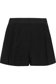 3.1 Phillip Lim Broderie anglaise cotton shorts